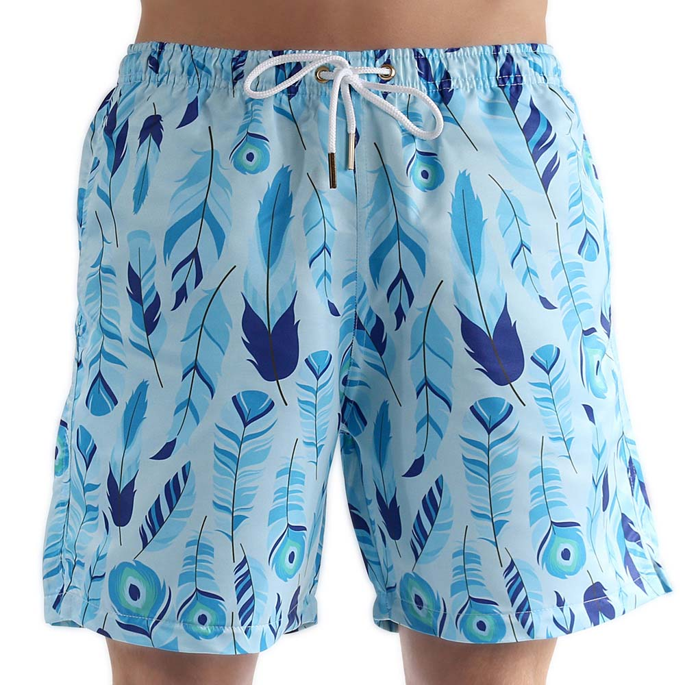 Bermuda Masculino Adulto  Blue Feather