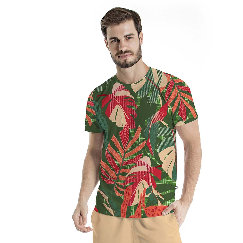 Camiseta Básica Maxi Monstera