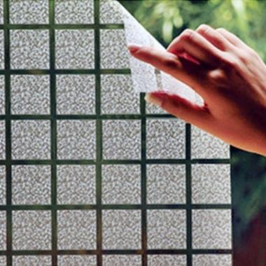 Adesivo Para Vidros 45x500cm Quadrados