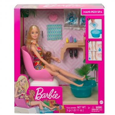 Barbie Salao De Manicure Com Pets - MATTEL