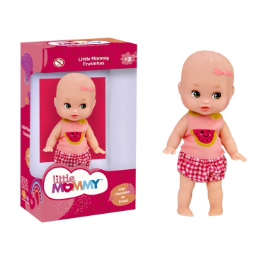 Boneca Mini Little Momny Melancia - PUPEE