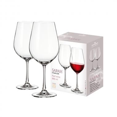 Conjunto 6 Peças De Taça De Vinho 690ml Sarah - Yin's Home