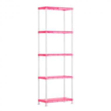 Estante Rainbow Pink Com 5 Prateleiras - Curver