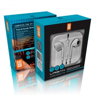 Fone De Ouvido C/Microfone Plug Lite Royal
