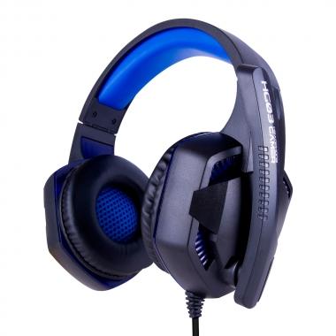Fone Ouvido Gamer com Led Plug P3/USB Royal - MB TECH