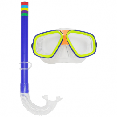 Kit De 2 Peças Máscara E Snorkel Splash - Dm Toys