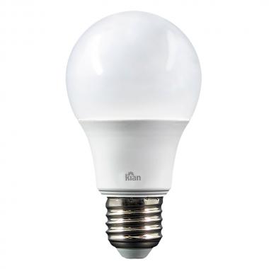 Lampada Led Bulbo 9w 6500k - Kian Branco Frio