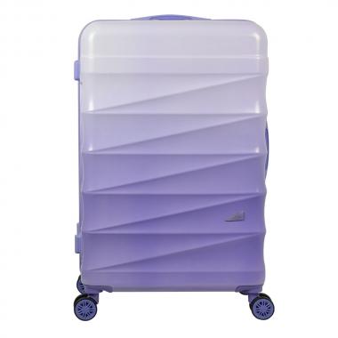 Mala Para Viagem ABS Grande 28 Polegadas GRADIENTE Colors Lilás E Roxo Com Roda 360 Graus - YINS