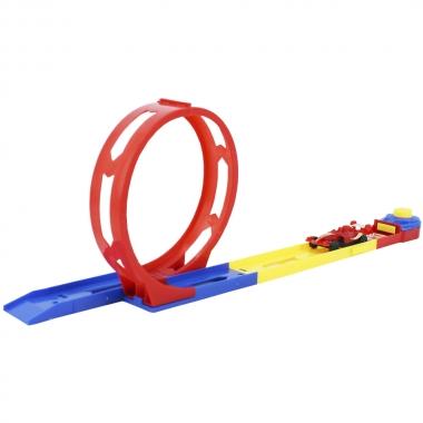 Mini Pista Track Rancing Com Looping - DM TOYS