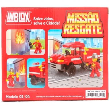 Missão Resgate Inblox 102 Peças - Ark