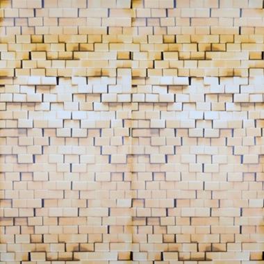Papel De Parede 45x200cm Pedras 3d