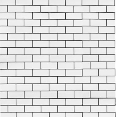 Papel De Parede 45x200cm Tijolos Brancos