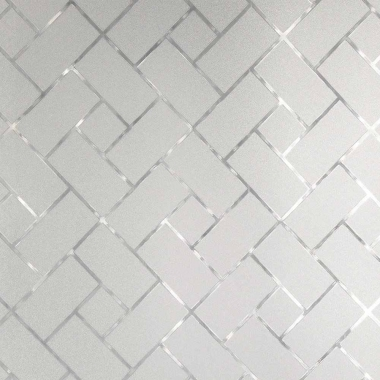 Adesivo Para Vidros 45x500cm Retângulos