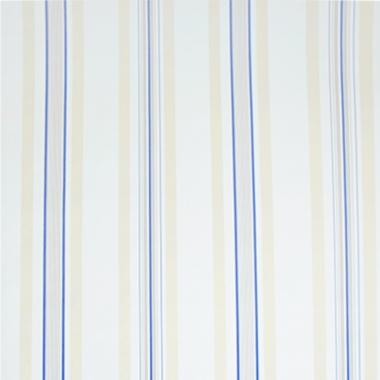 Papel De Parede 45x500cm Listras Bege/Azul