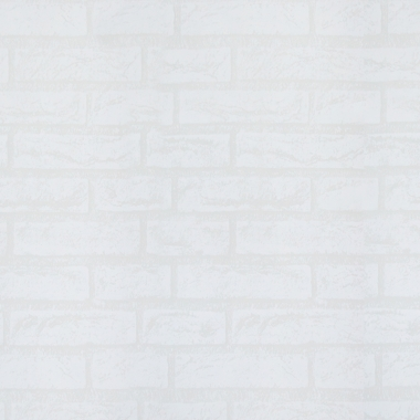Papel De Parede Tijolinho Branco 5mx45cm - Yin's Home