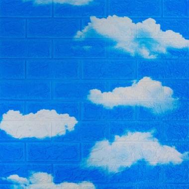 Placa Adesiva 70x77cm Nuvens