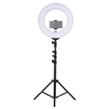 Ring Light 26cm com Tripé - BF BRASIL