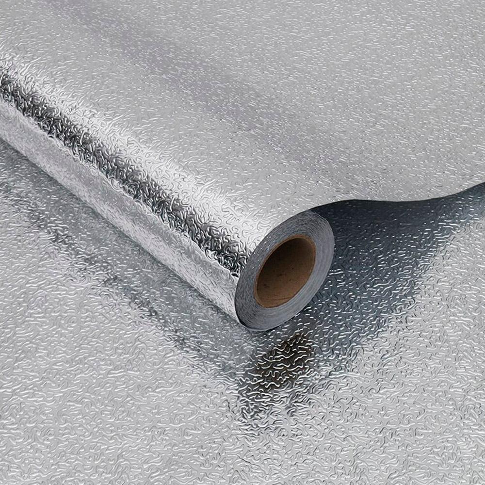 Adesivo Para Cozinha 5mx40cm Alumínio