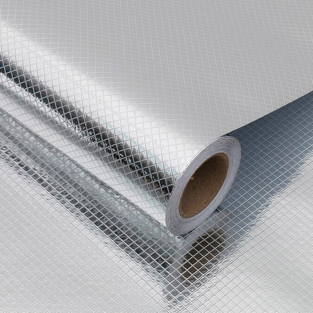 Adesivo Para Cozinha 5mx40cm Alumínio Bolas