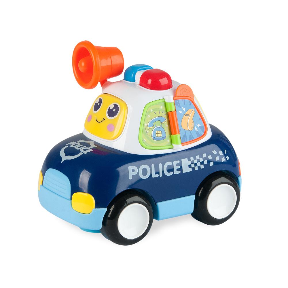 Baby Car Polícia com Luz E Som - ZOOP TOYS