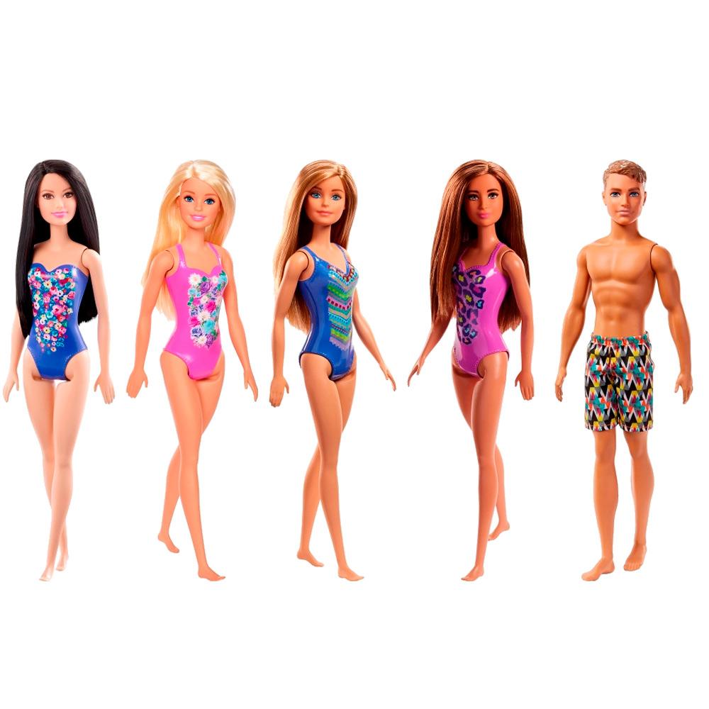 Barbie Praia Sortida Mattel - MATTEL