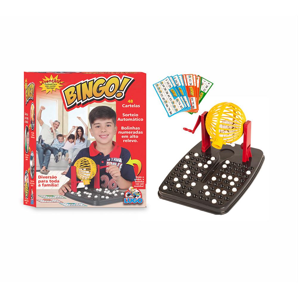 Bingo com Roleta E 48 Cartelas - LUGO