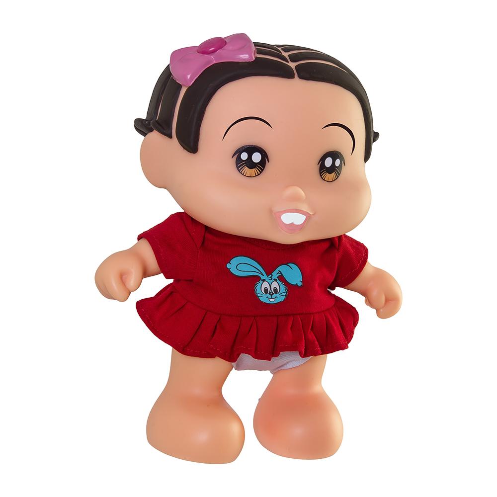 Boneca Mônica C/Som Adjomar