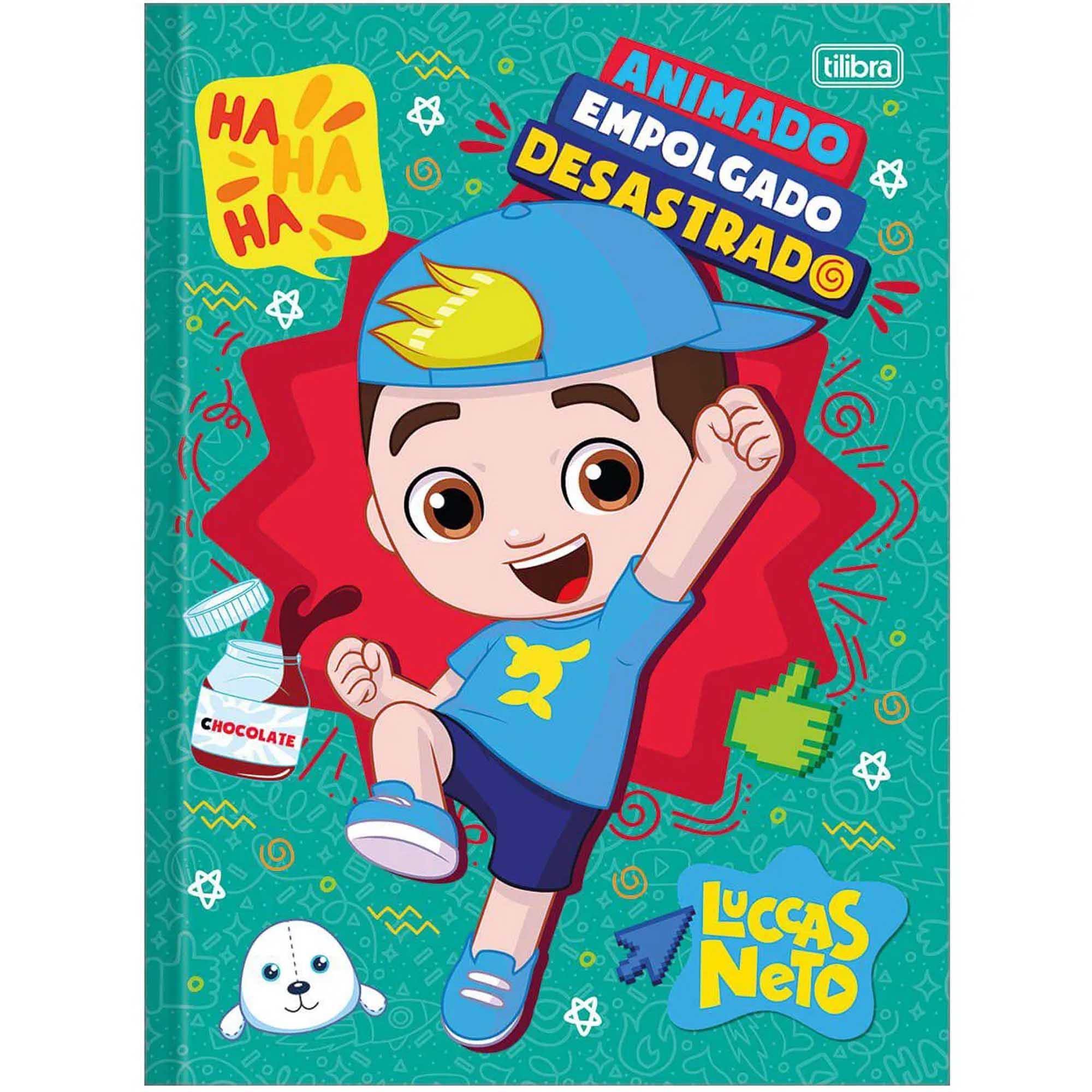 CADERNO 1 MATÉRIA LUCCAS NETO 80 FOLHAS - TILIBRA