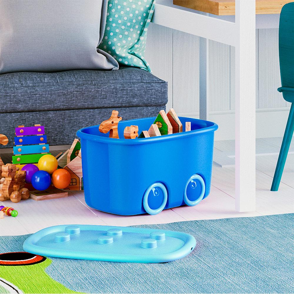 Caixa Organizadora Funny Box 46l - Curver Azul