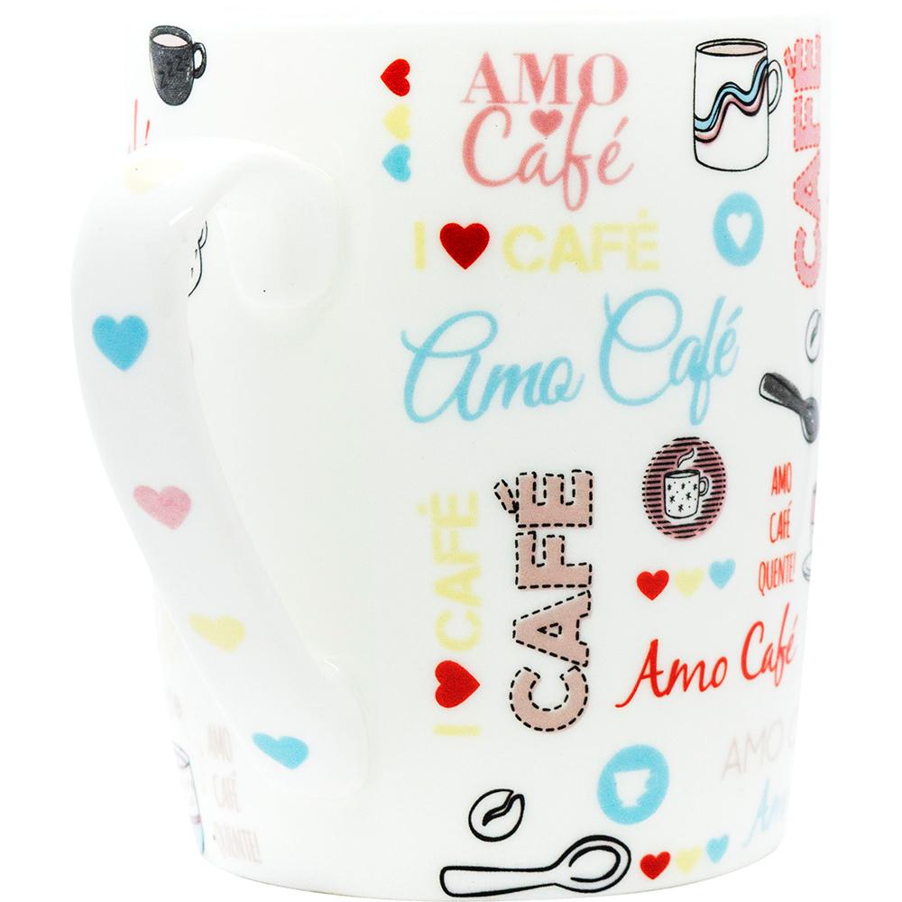 CANECA AMO CAFÉ 440ML - YIN'S HOME