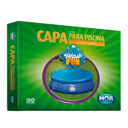CAPA PARA PISCINA REDONDA SPLASH FUN 2,400LTS - MOR