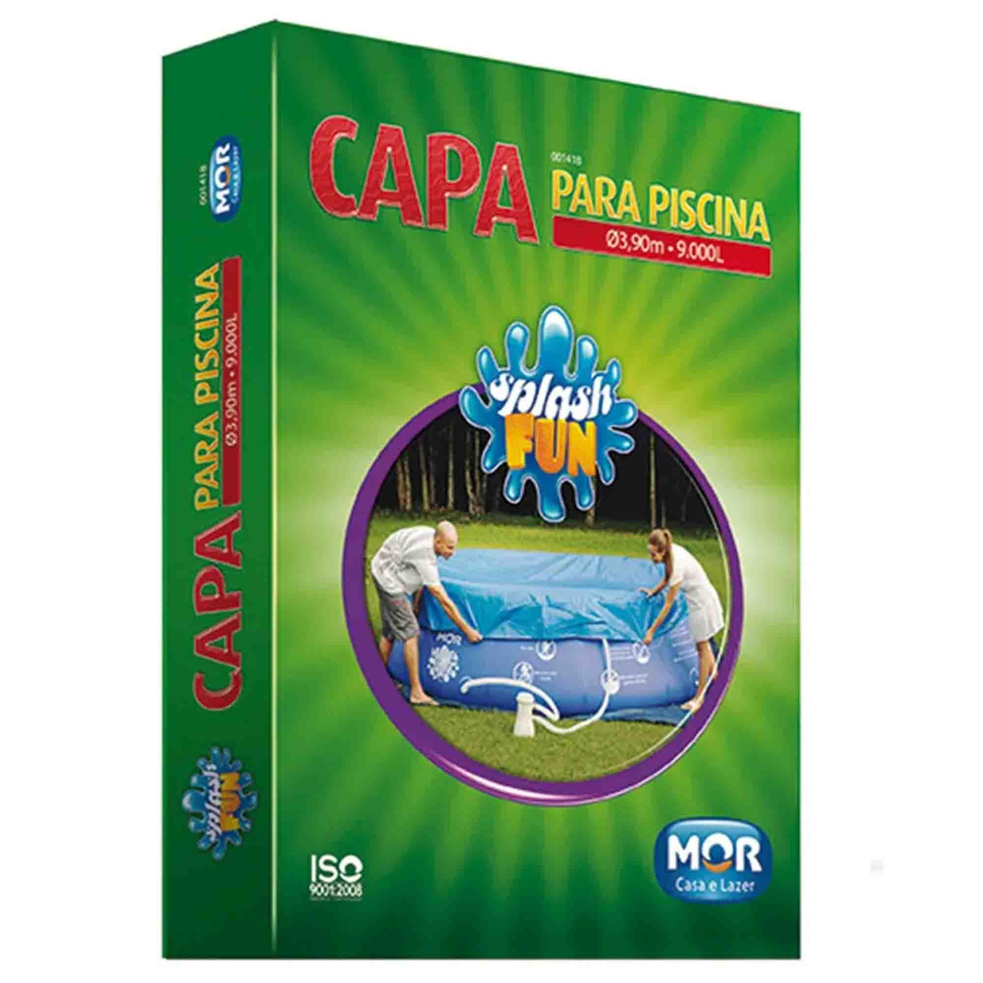 CAPA PARA PISCINA SPLASH FUN 3,90MX9,000L - MOR