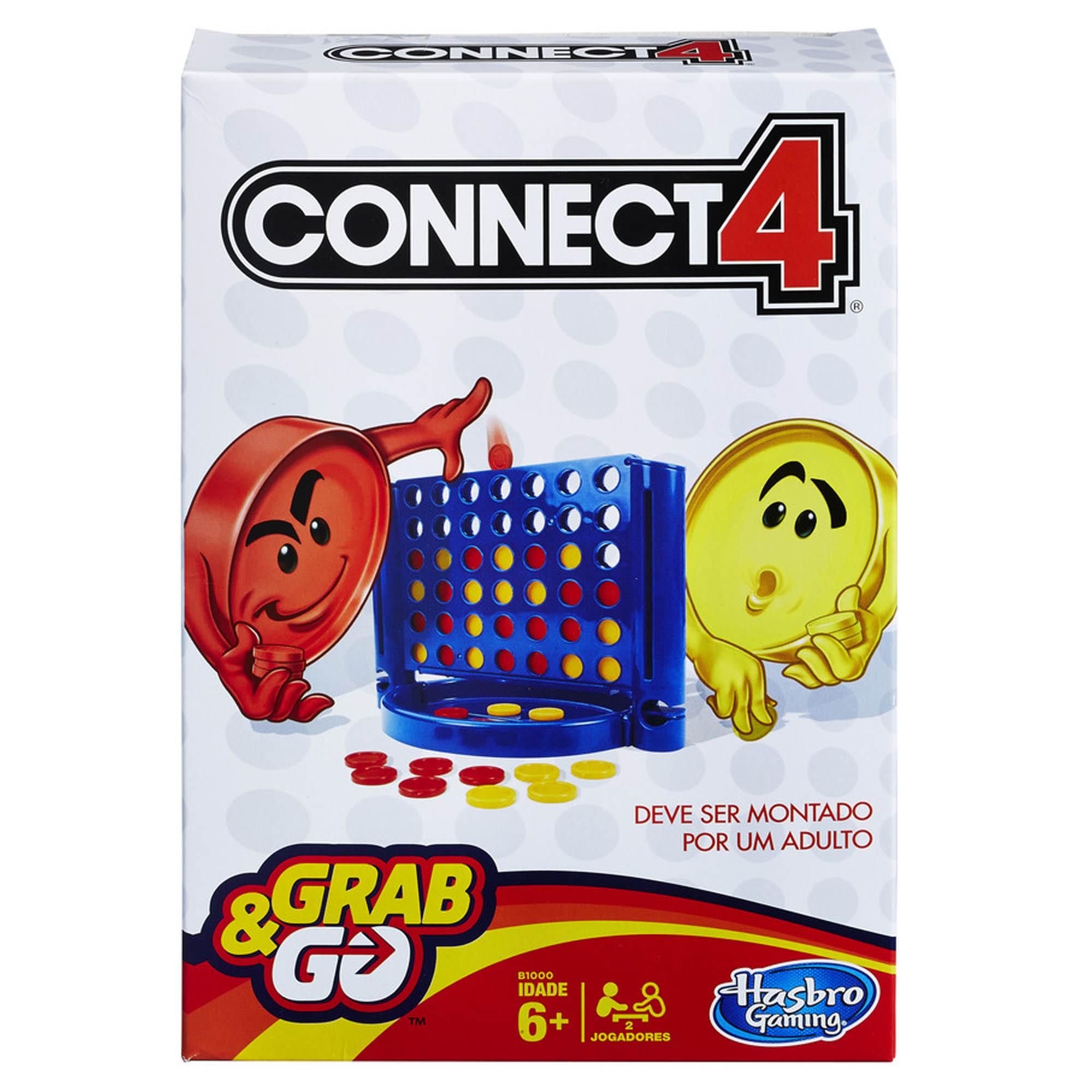 JOGO CONNECT 4 PARA VIAGEM - HASBRO