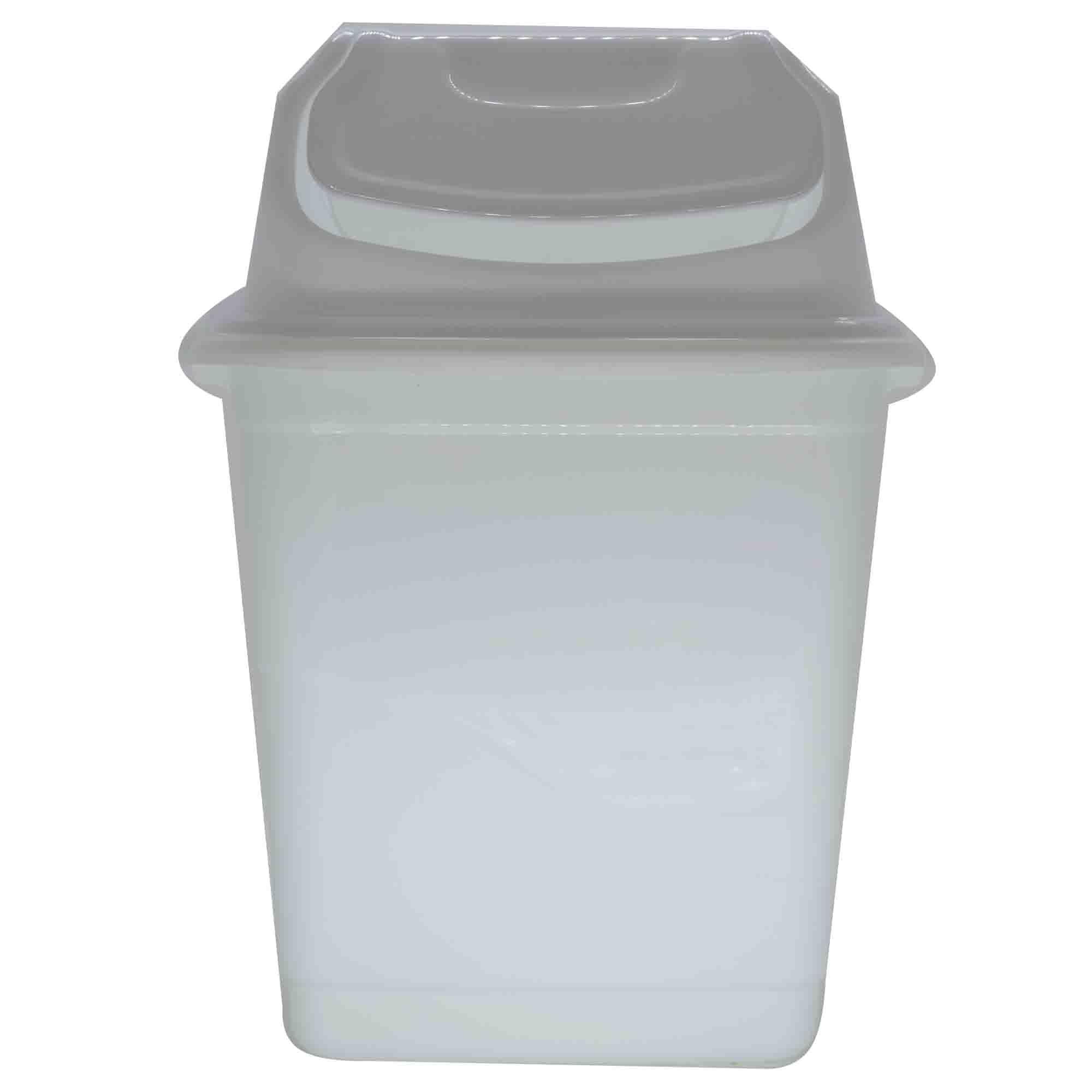 Lixeira Basculante 10l - Giplas Branca