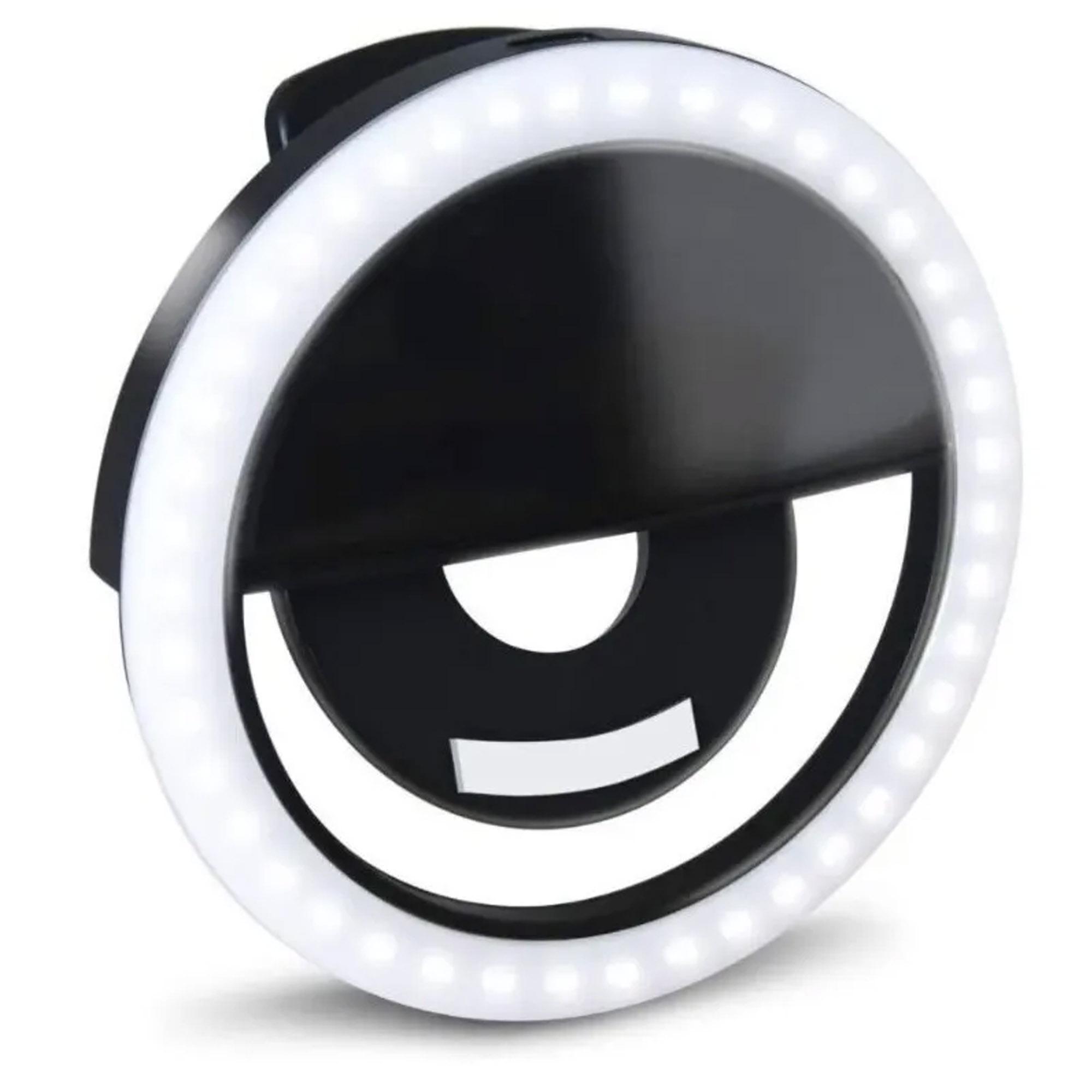 MINI RING LIGHT PARA CELULAR - MB TECH