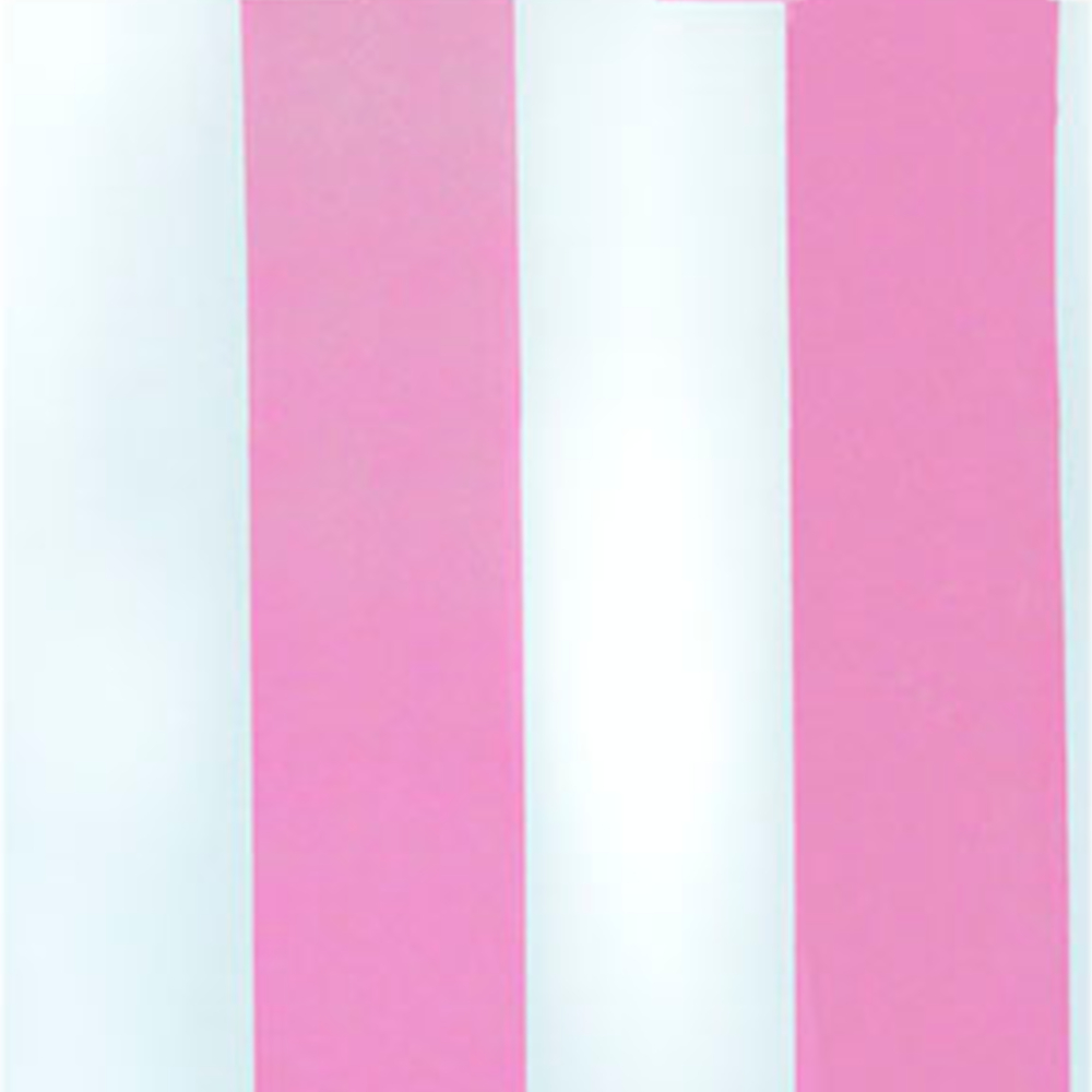 Papel De Parede 45x200cm Listras Rosa/Branca
