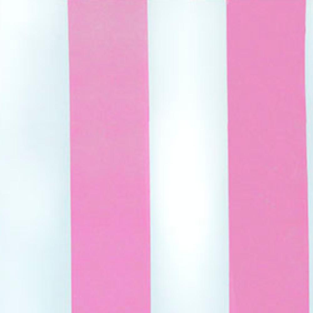 Papel De Parede 45x500cm Listras Rosa/Branca