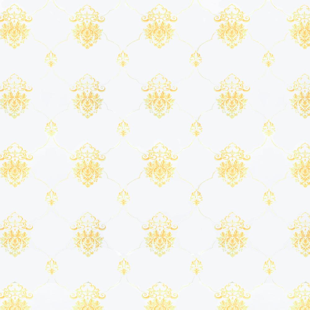 Papel De Parede 45x500cm Prata/Arabesco