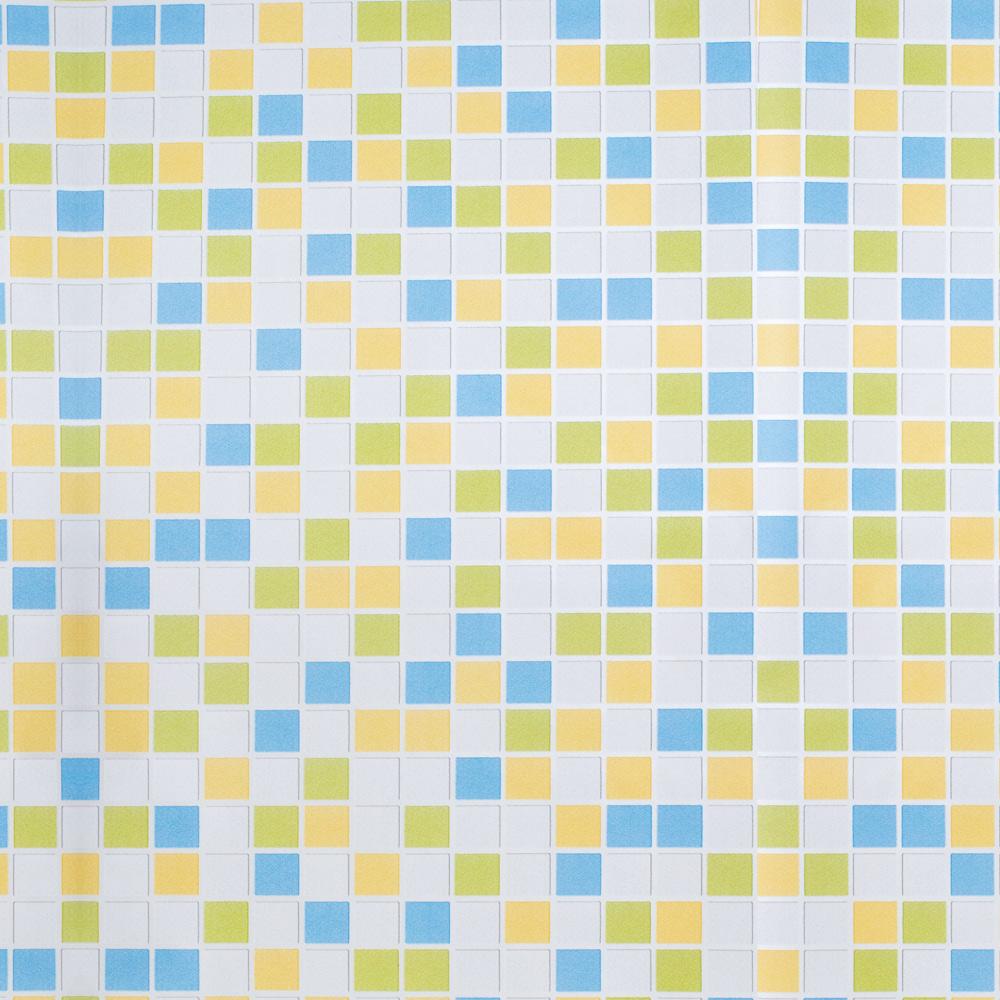 Papel De Parede 45x500cm Quadrados Color Ct0045/5220