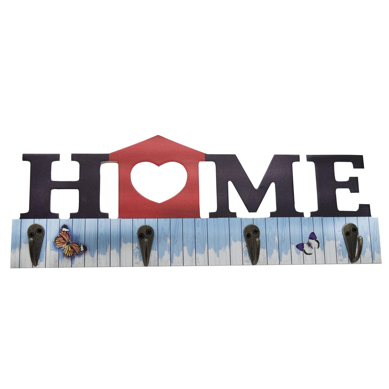 PORTA CHAVES HOME COM 4 GANCHOS - YIN'S HOME SORTIDO