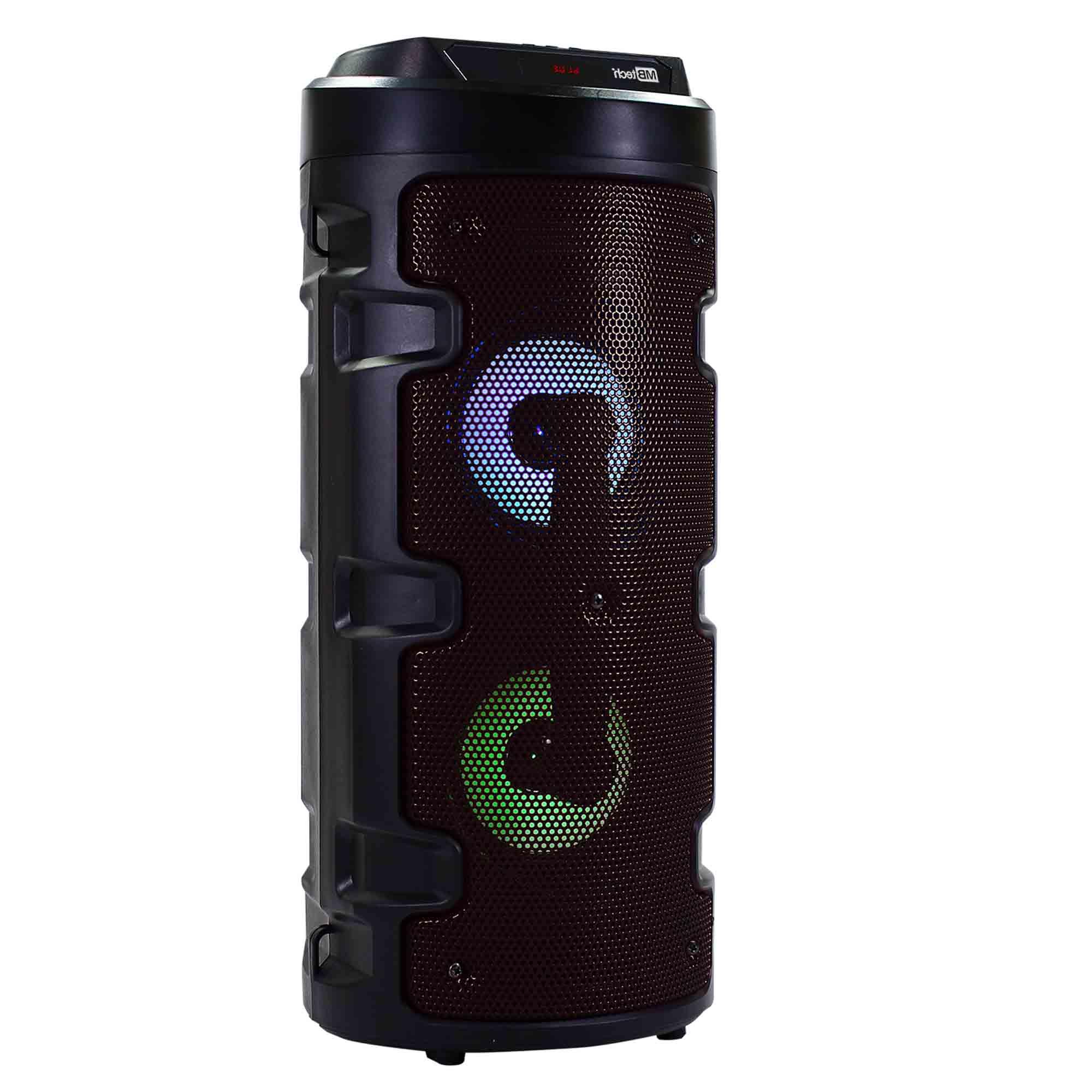 RADIO FM BLUETOOTH SD USB AUX MIC - MB TECH PRETO