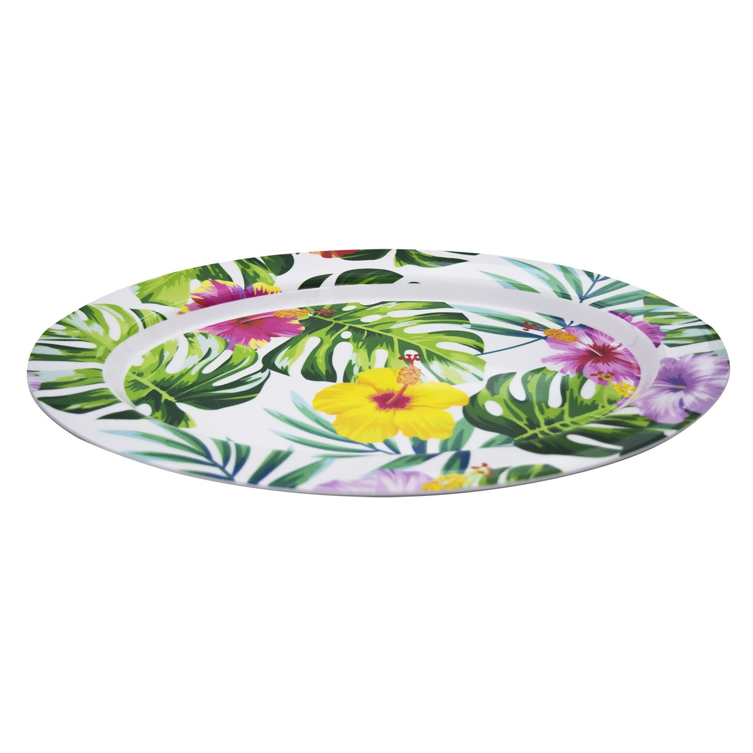 TRAVESSA OVAL TROPICAL 35,5X26CM - YIN'S HOME