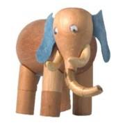 Bicho de Madeira Articulado Elefante Ganesha