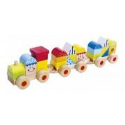 Blocos de Montar de madeira Trem de Blocos