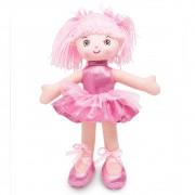 Boneca de Pano Bailarina Glitter  Cores Sortidas