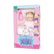 Boneca Mini Baby faz Xixi Super Toys