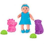 Boneca Mini Bebê Mania Pet Roma Jensen