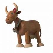Boneco de Madeira Articulado Vaca Letícia