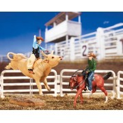 Bricho miniatura colecionavel Boi de Rodeio Collecti Bulls Rodeo Breyer