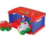 Brinquedo Carrinhos Central Comando Dismat